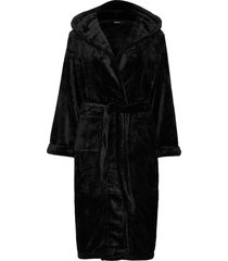 decoy long robe w/hood morgonrock svart decoy