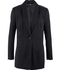 blazer lungo ampio (nero) - bpc bonprix collection