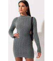 akira pretty in plush sweater dress