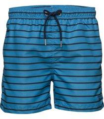 breton stripe swim shorts c.f. badshorts blå gant