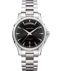 hamilton jazzmaster automatic bracelet watch, 40mm
