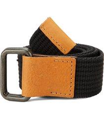 cinturón negro-miel colore