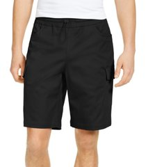 inc men's regular-fit stretch drawstring cargo shorts, created for macy's