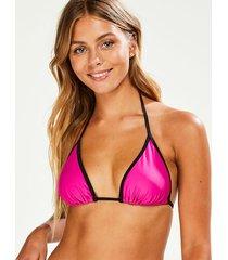 hunkemöller haze triangel-bikiniöverdel rosa