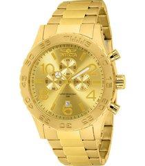 reloj invicta 1270 oro acero inoxidable