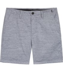 men's hurley marwick dri-fit golf shorts, size 29 - grey