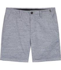 men's hurley marwick dri-fit golf shorts, size 33 - grey