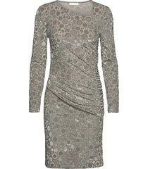moa, 1087 velvet devoré dresses bodycon dresses grå stine goya