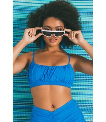 akira just right ruched bralette