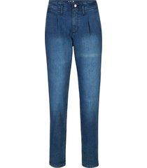 jeans elasticizzati a vita extra alta (blu) - john baner jeanswear