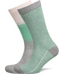 levis regular cut color dip 2p underwear socks regular socks grön levi´s