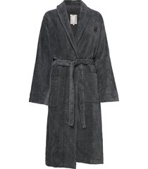 hotel velour robe home bathroom robes grijs lexington home