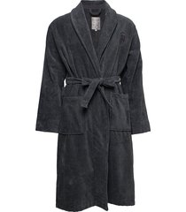 hotel velour robe badjas grijs lexington home