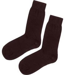 calzedonia - short socks with cashmere, 44-45, brown, men