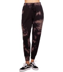 bam by betsy & adam tie-dyed drawstring jogger pants, created for macy's