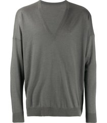 frenckenberger oversized sweatshirt - grey