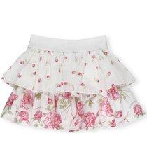 monnalisa romantic rose skirt