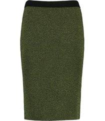 cks rok aroline juniper green met glitter - size 36 / s