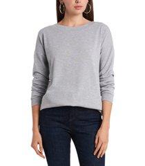 1.state dropped-shoulder cross-back sweatshirt