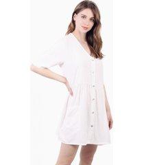 vestido capri blanco jacinta tienda