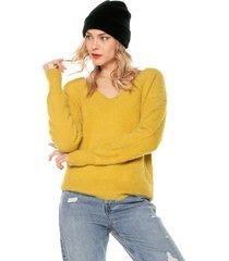 saco amarillo glamorous