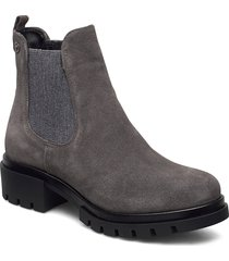 woms boots shoes chelsea boots grå tamaris