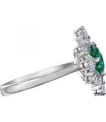 anillo con motivo de palacio, verde,5513223
