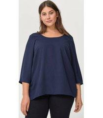 blus xcilia 3/4 blouse