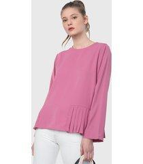 blusa morado paris district