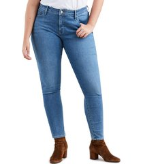 levis 310 plus shaping super skinny jeans in blue