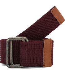 cinturón vinotinto-café colore