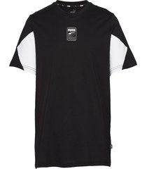 rebel advanced tee t-shirts short-sleeved svart puma