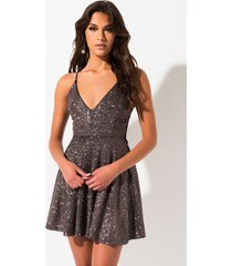 akira all in the details lace back dress