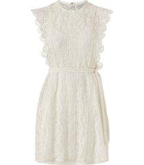 spetsklänning vitaffa s/l short dress