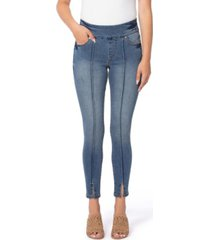 lola jeans pull-on high rise skinny ankle denim