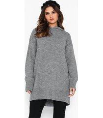 nly trend cozy hoodie knit stickade tröjor