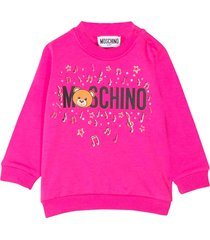 moschino fucsia sweater
