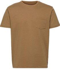 t-shirts t-shirts short-sleeved brun esprit casual