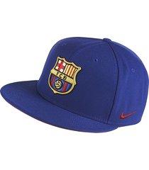 gorra nike fc barcelona-azul