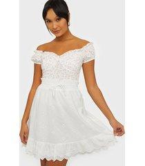co'couture leila anglaise smock skirt minikjolar
