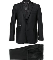philipp plein statement regular fit suit - black