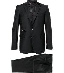 philipp plein statement regular fit suit - black