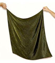 pañuelo verde nuevas historias plisado