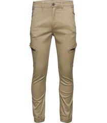 curved leg cargo pants trousers cargo pants beige shine original