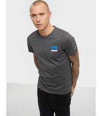 columbia m rapid ridge back graphic t-shirts & linnen grey