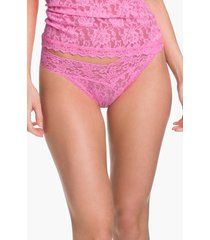 hanky panky original rise thong in glo pink at nordstrom