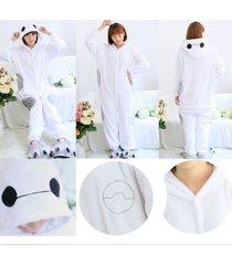 big hero 6 cute baymax onesie kigurumi pajamas anime cosplay costume sleepwear