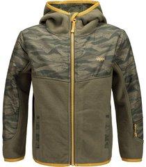 chaqueta grillo therm-pro verde militar lippi