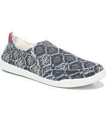vionic beach collection malibu slip-on sneaker, size 8.5 in navy at nordstrom