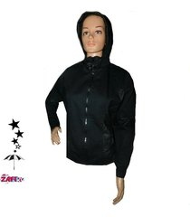 chaqueta  para dama  con capucha